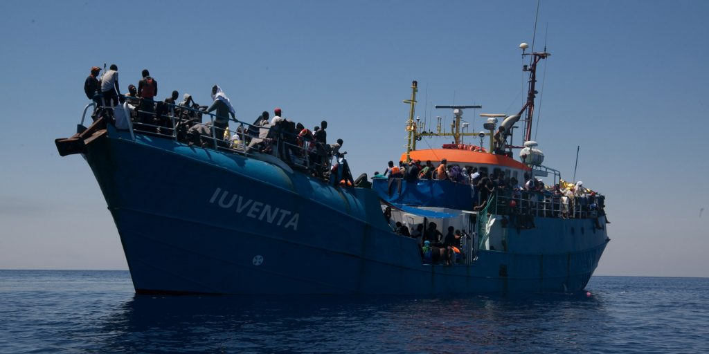 Iuventa Schiff Seenotrettung